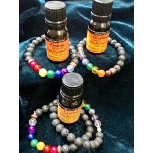 essential oils bracelets