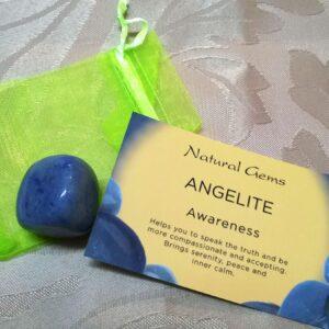Angelite Tumble stone