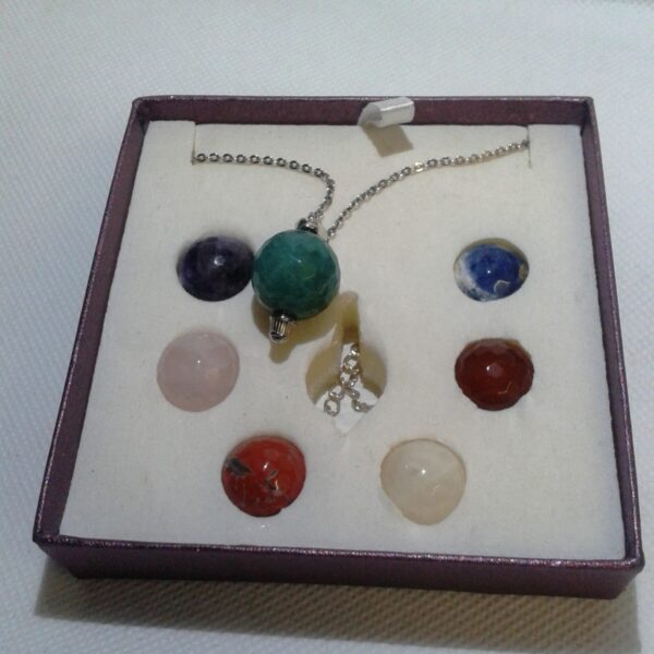 Chakra Crystals Interchangeable Pendant