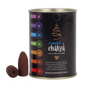 Chakra backflow Incense Cones