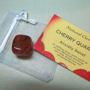 Cherry Quartz Tumble stone