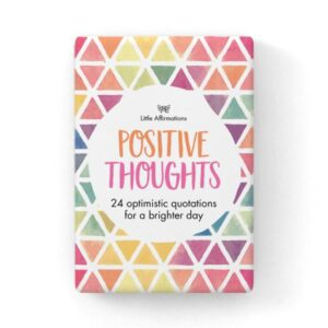 Positive Thoughts Card Set