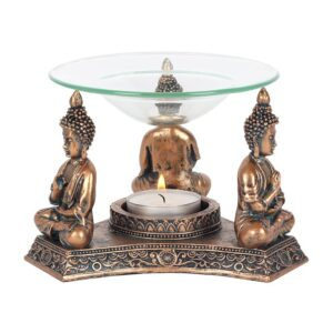 Bronze Buddha Oil Burner dish