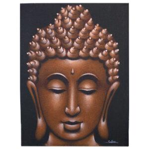 Copper Buddha Head Picture