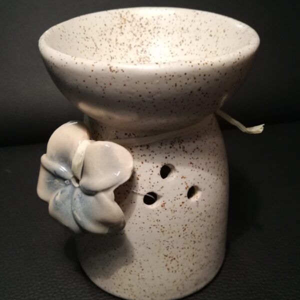Ceramic Flower Oil Burner