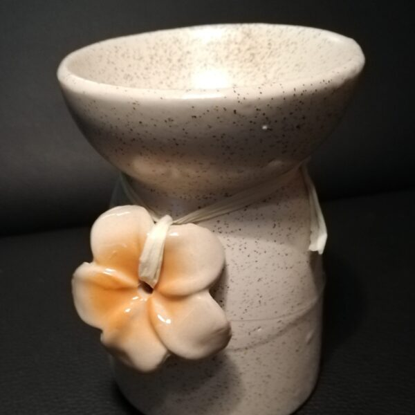 Ceramic Flower Oil Burner