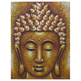 Gold Buddha picture