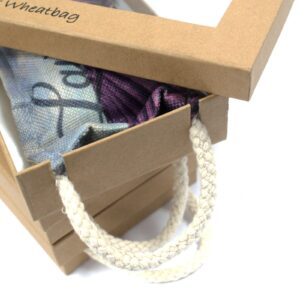 Lavender wheat bag box
