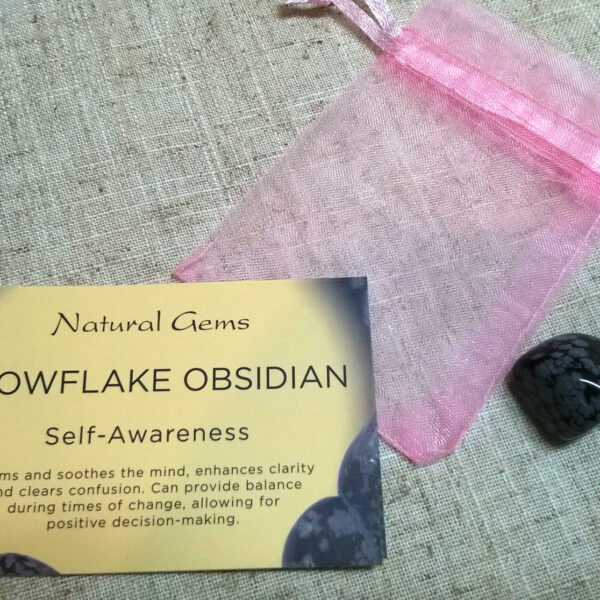 Snoflake Obsidian Crystal