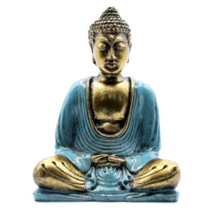 Teal and Gold Buddha