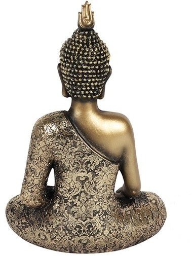 Antique Gold Buddha without scarf